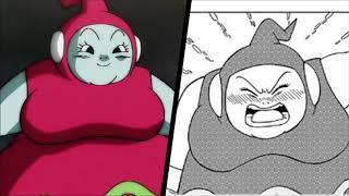 Dragon Ball Super Manga vs Anime: Ribrianne's Portrayal