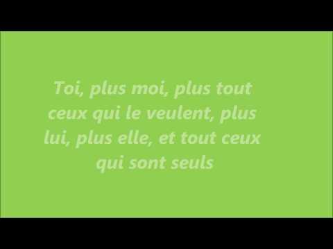 Toi + Moi - Star Académie 2012 PAROLES!