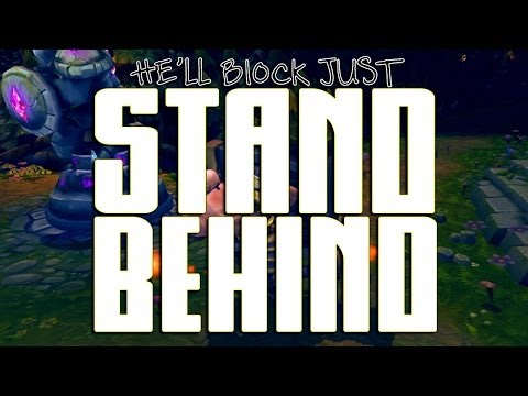 Instalok - Stand Behind [BRAUM Song] (Imagine Dragons - Demons PARODY)