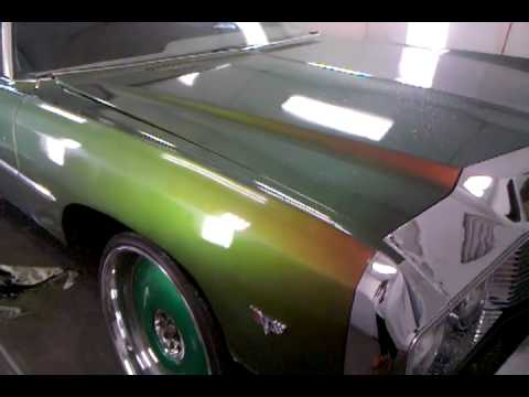 CARDOE 73 CANDY FLIP DONK n outrageous paint - YouTube