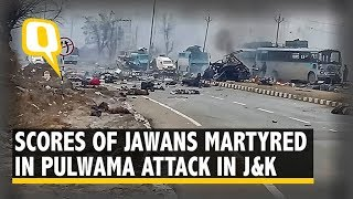 Pulwama Attack: At Least 40 CRPF Jawans Martyred, Modi Govt Assures 'Strong Reply' | The Quint