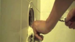 浴缸水候漏水修理DIY