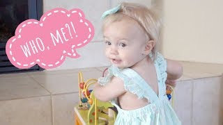 Is Lyla Being Pranked By a 1 Year Old?