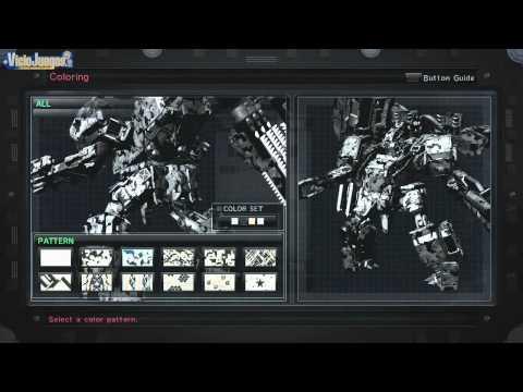 Armored Core V - Personalización [720p]
