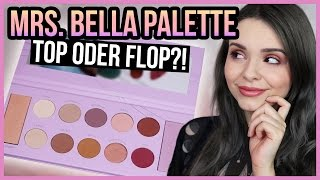 MRS. BELLA x BH COSMETICS PALETTE - Top oder Flop?! - Live Swatches, Review & Look!