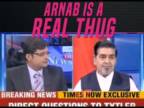 Video: Arnab Goswami RIPS Apart 1984 Riot Accused Jagdish Tytler in Live Debate