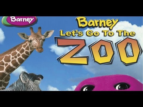 Barney - Let's Go To The Zoo video