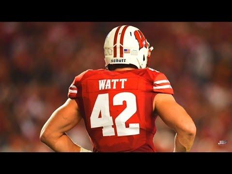 Wisconsin Lb Tj Watt 2016 Highlights