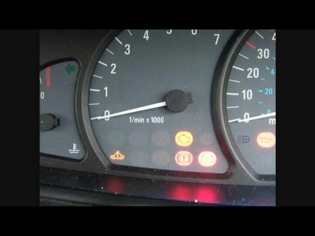 Vauxhall engine management light. - YouTube