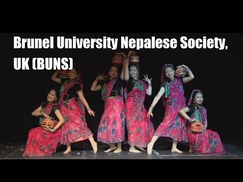 Inter-Uni Nepalese Dance Competition 2014 (Brunel University Nepalese Society, UK) BUNS