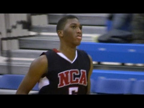 Zacarry Douglas Basketball Highlights Highlights - Delaware Recruit - National Christian Academy