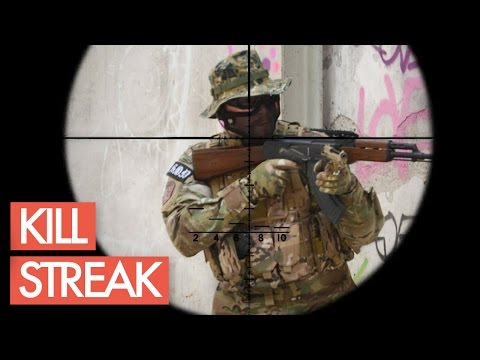 Kill Streak! - Airsoft Sniper Gameplay