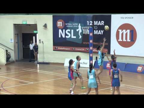 M1 Netball Super League 2016: Game 10 Tiger Sharks vs Mission Mannas