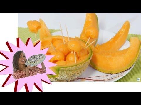 Come Pulire il Melone – Come Tagliare il Melone – Le Ricette di Alice
