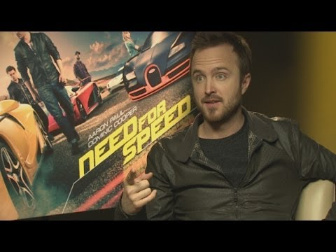 Aaron Paul teases reporter for NOT watching Breaking Bad