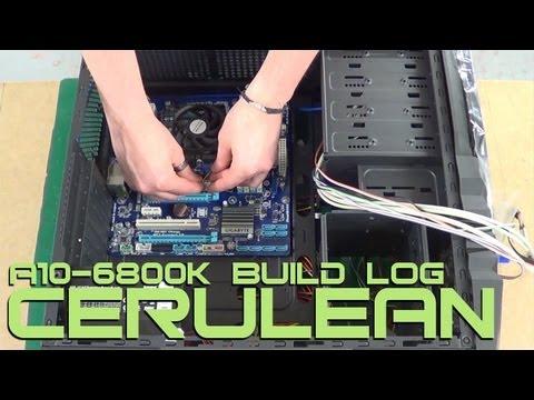 VIBOX Cerulean Gaming PC - AMD A10-6800K Richland APU Processor - Review & Build Log / Guide