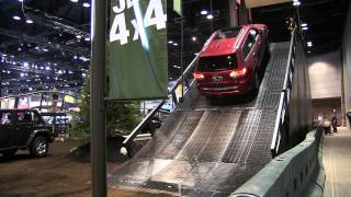 2014 Jeep Grand Cherokee  The Jeep Ride at the Chicago Auto Show