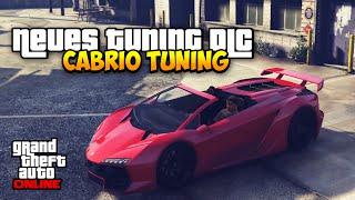GTA 5 TUNING DLC - Neue Cabrio Supersportwagen ! | Konzept DLC @Rockstargames