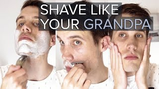 Shave like a Man | How to use the Double Edge Razor | Ft. The Shaving Company
