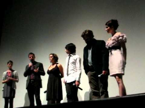 Zach Galifianakis, Keir Gilchrist, Emma Roberts Q&A at