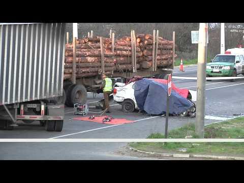 Dos hermanas fallecieron en accidente de tránsito en camino hacia Yumbel