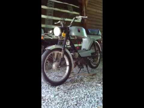 Batavus Moped Starflite 1980 Batavus Moped Cold Start