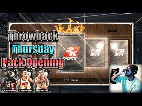 NBA 2K15 PS4 MyTEAM - FACECAM Throwback Onyx Pack Opening!! NEW Jason Kidd & Drazen Petrovic