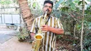 melle melle mukhapadam saxophone solo