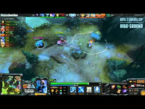 Dota 2 Canada Cup Season 4 - Quarter Finals (Void Boys vs Leviathan) Game 1