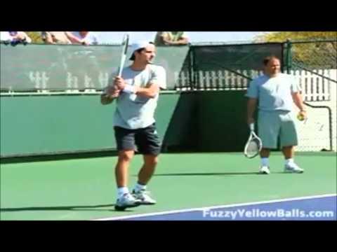 Tecnica Descriptiva Del Revés A Dos Manos En El Tenis De Campo
