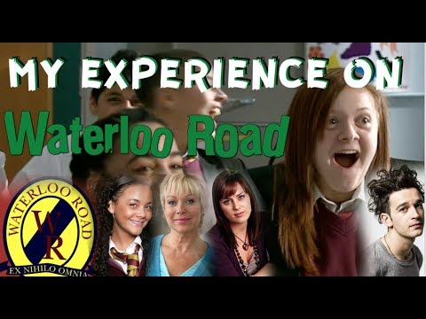 I WAS AN EXTRA ON WATERLOO ROAD FOR 4 SEASONS!