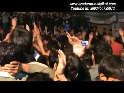 FARHAN ALI WARIS Live Azadari At Sialkot 15 Safar 2012 Part-1/1