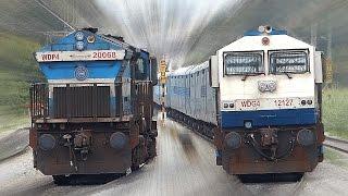 CLASHING Trains INDIAN RAILWAYS Unlimited !