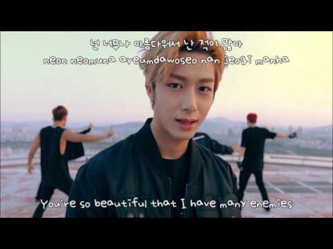 MONSTA X (몬스타엑스)  Hero - MV - Han l Rom l Eng Lyrics