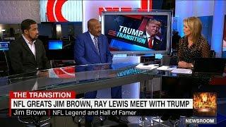 CNN's Brooke Baldwin Can't Believe That Jim Brown Met With Donald Trump