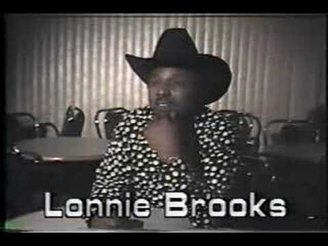 Lonnie Brooks on the very first