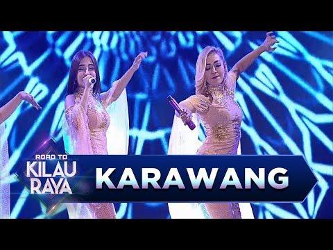 Asik Nih! Trio Macan Menyanyikan [JARAN GOYANG] - Road To Kilau Raya (18/3)