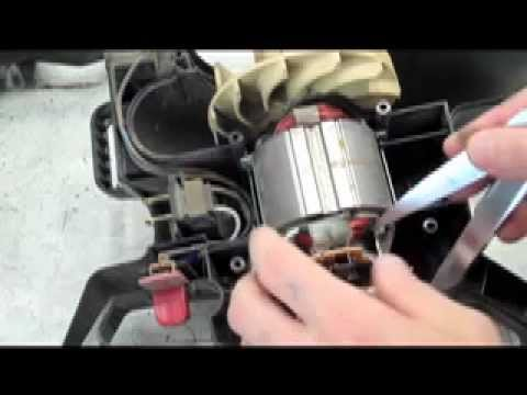 How To Fix An Electric Leaf Blower Vacuum Youtube