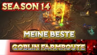 Diablo 3 - Saison 14 - Beste Goblin Route | Farm Guide | Farm Route | German