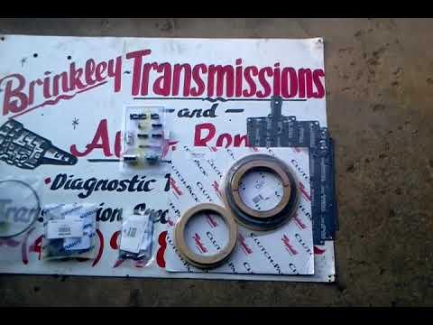 Ford F250 transmission E40D rebuild