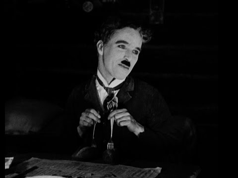 Charlie Chaplin - The Gold Rush - Roll Dance video