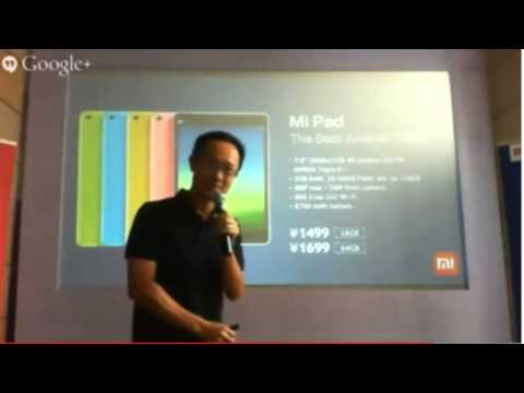 Xiaomi MI 3 India Launch Event Hilights