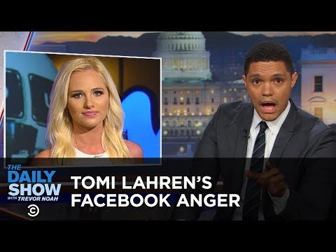 The Daily Show - Tomi Lahren's Anger Lights Facebook on Fire