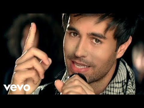 Enrique Iglesias, Juan Luis Guerra - Cuando Me Enamoro Music Videos