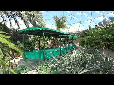 Behind the Seeds Greenhouse Tour at Epcot The Land Pavilion, Walt Disney World