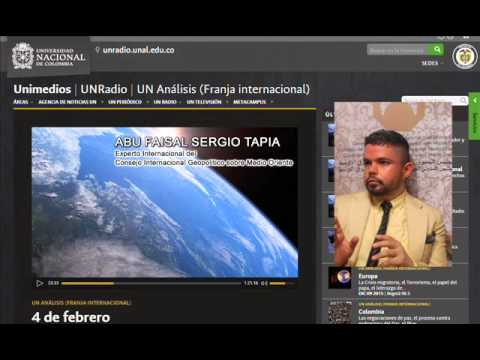 Analisis Internacional sobre Iran - Abu Faisal Sergio Tapia - UN Radio UN Analisis