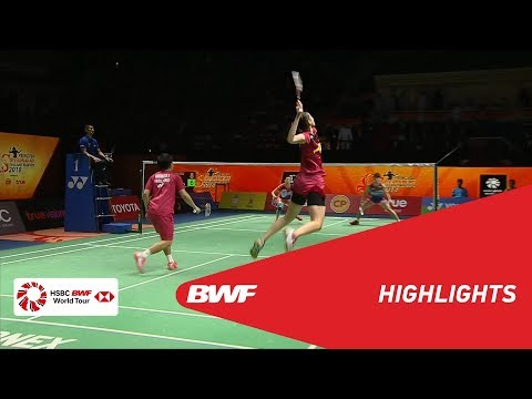 Princess Sirivannavari Thailand Masters 2018 | Badminton XD - F - Highlights | BWF 2018