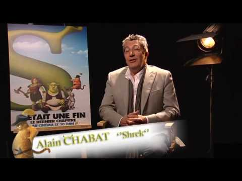 Shrek 4, il était une fin - Le doublage avec Alain Chabat et Barbara Tissier [VF|SD]