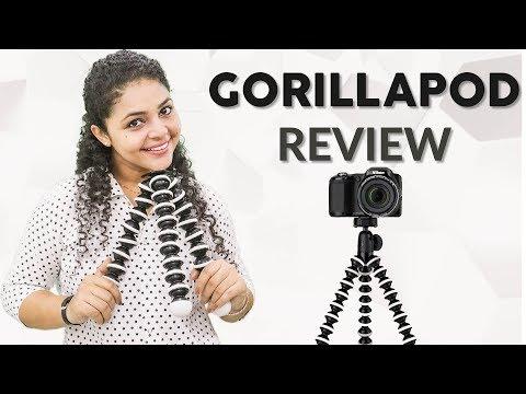 Gorillapod Tripod Review | Gorillapod Uses | Gorillapod For DSLR