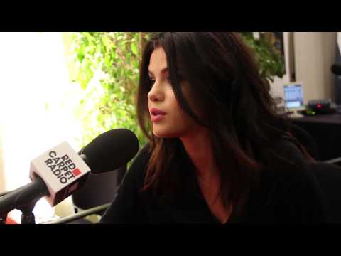 Selena Gomez Backstage At The AMAs With B96